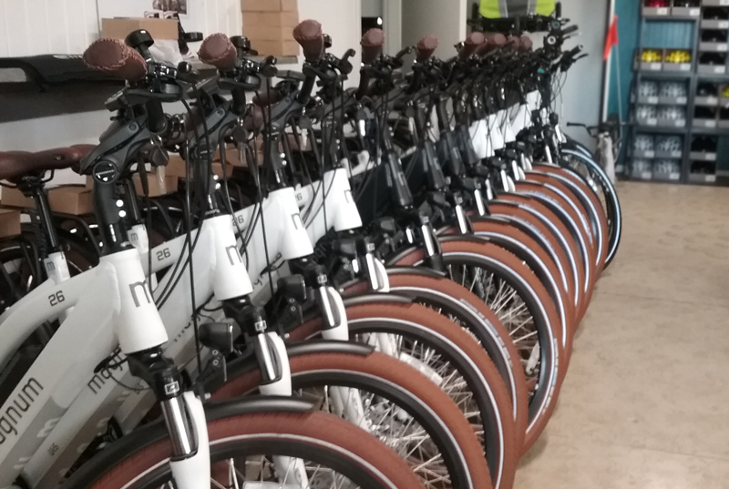 Inside of E-Bikes Of Holmes County LLC