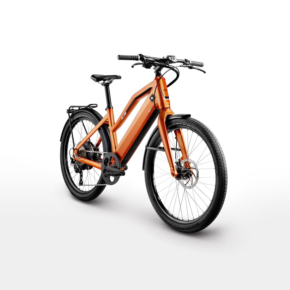 Stromer orange Bike