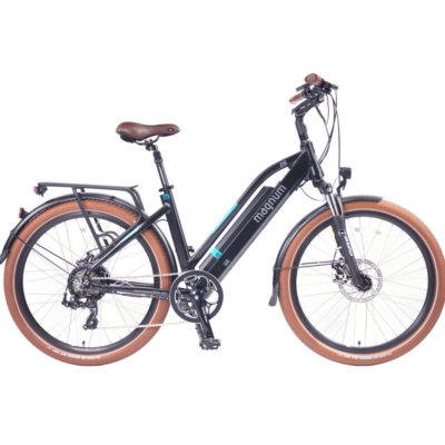 Magnum Ui6 Electric Bike Black frame