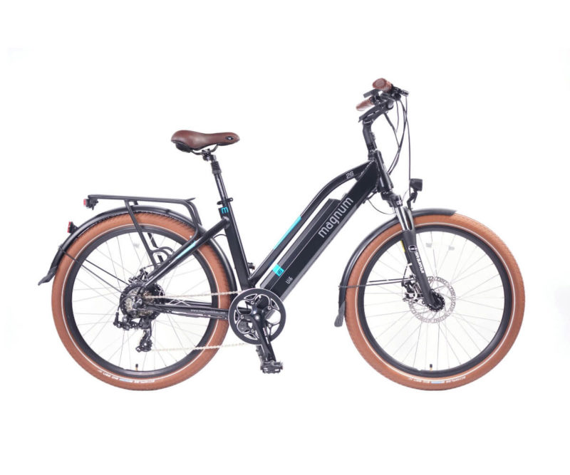 Magnum Ui6 Electric Bike Black frame